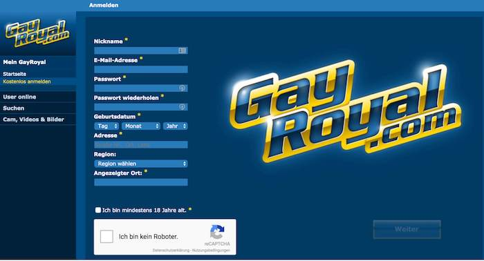 GayRoyal Erfahrungen