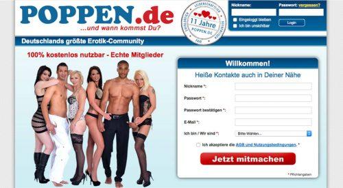Poppen Webseite