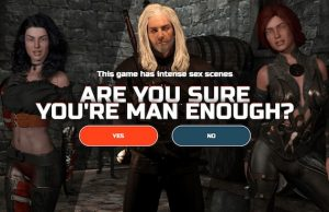the witcher porn game