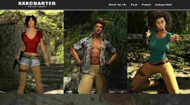 Uncharted 4 Sex